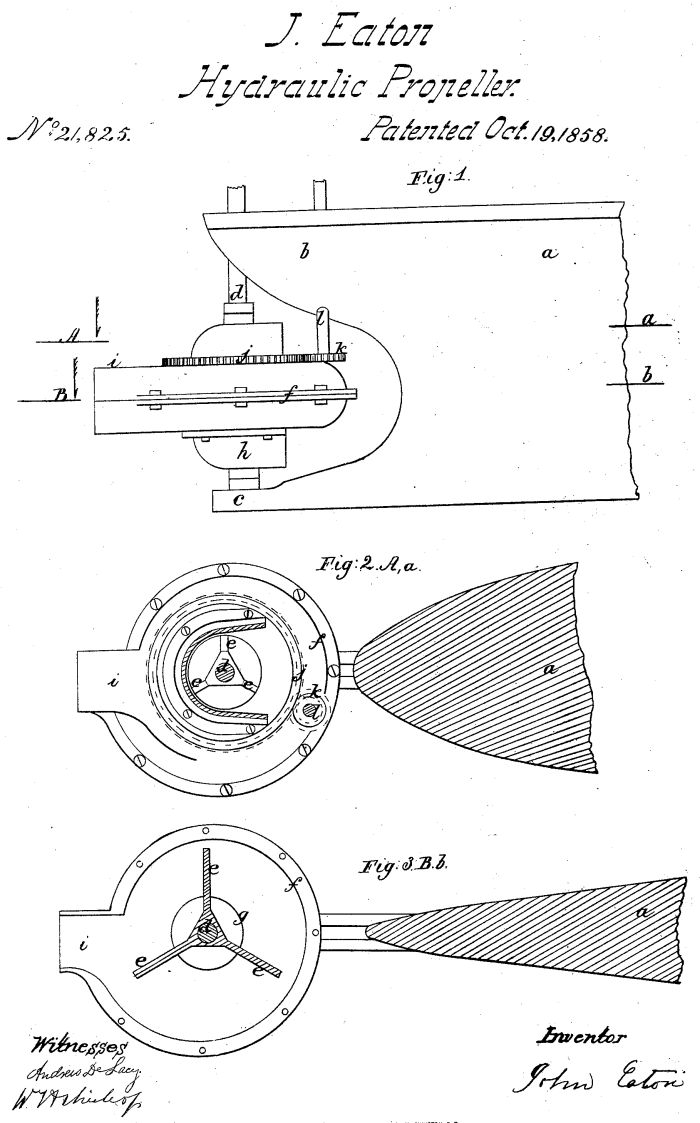 early azimuth thruster